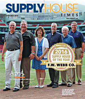 F.W. Webb Company Supply House of the Year