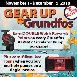 Gear Up with Grundfos Promotion