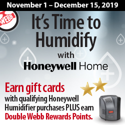 It's Time to Humidify with Honeywell Home
