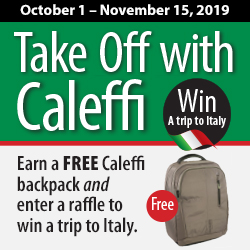 Take Off with Caleffi Promotion