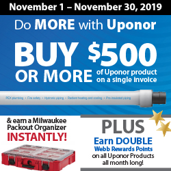 Do MORE with Uponor Promotion