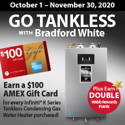 Go Tankless with Bradford White