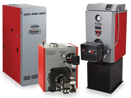 PurePro TRIO and Advantage Boilers